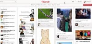 Pinterest page