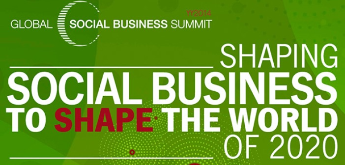 Global social business summit logo