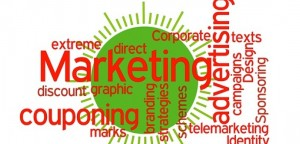 Marketing-related terms green circle