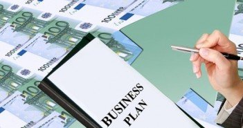 euro bills arrow business plan
