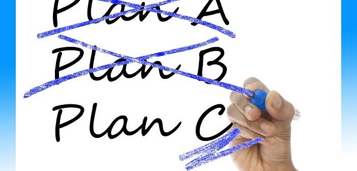 plan a b & c hand marker