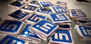 LinkedIn chocolate squares