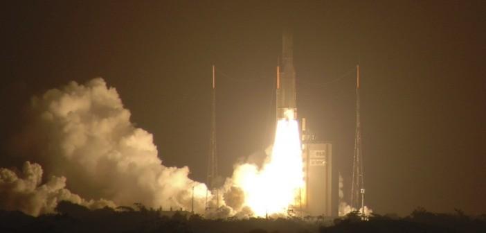 Successful rocket launch