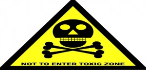 Do not enter sign skull bones