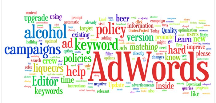 Google AdWords online marketing