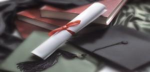 graduation cap diploma