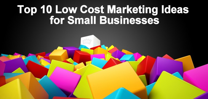 Low cost marketing ideas 1