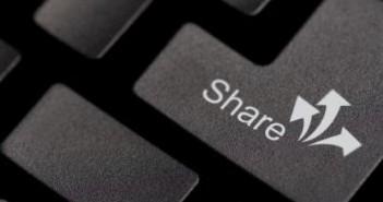 Keyboard share button