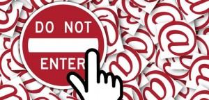 Do not enter sign at sign nimbus