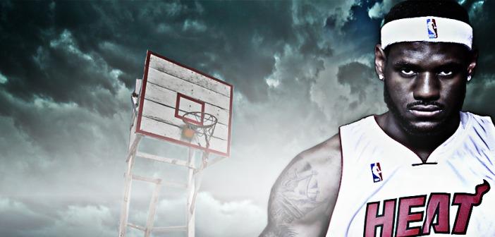 LeBron James Miami Heat Jersey Hoop