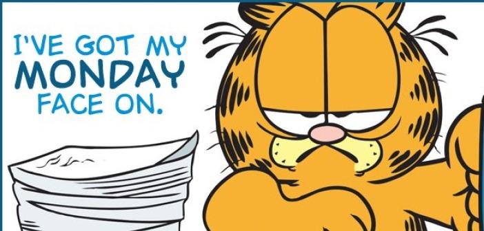 Garfield Monday face