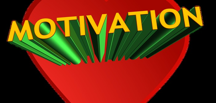 yellow motivation sign red and black background