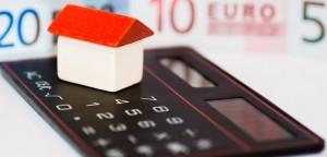 house calculator euro bills