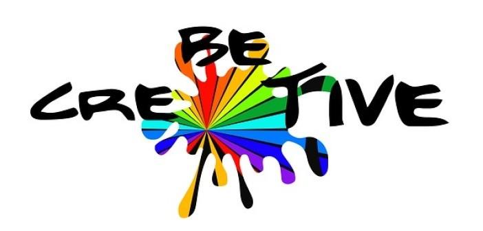 Be creative paint splash