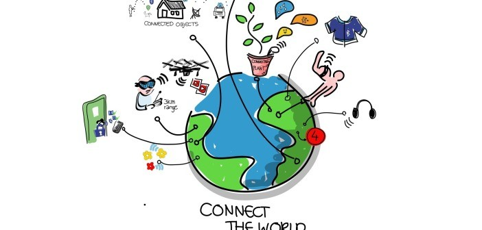 Earth connected IoT