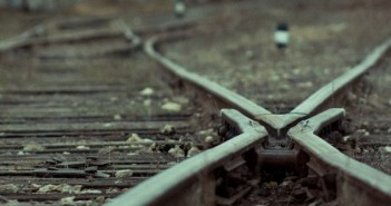 Crossroad railway