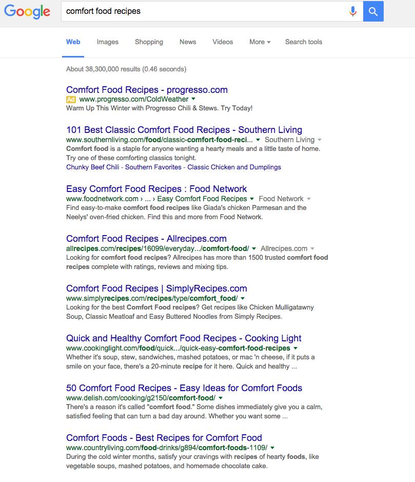 comfortfoodrecipesGoogleSearch