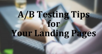 AB Testing Landing Pages